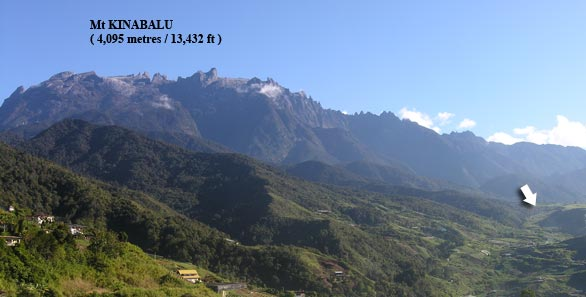 Kundasang, Mount Kinabalu 10 acres, very near National Park.