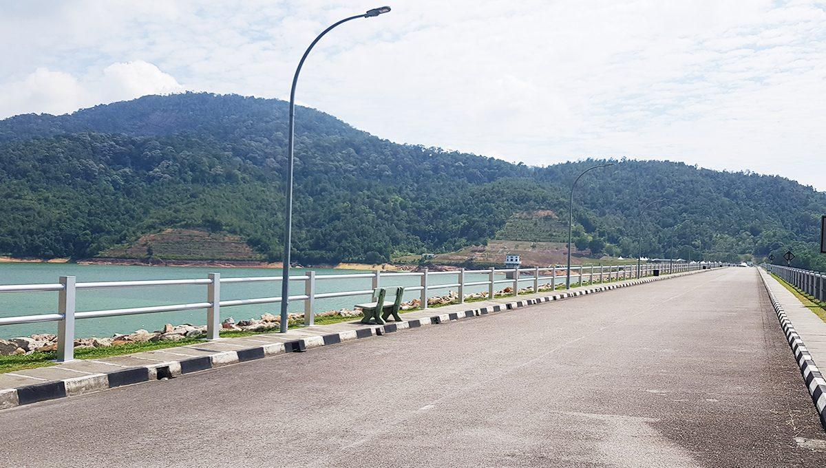 Teluk Bahang Dam road