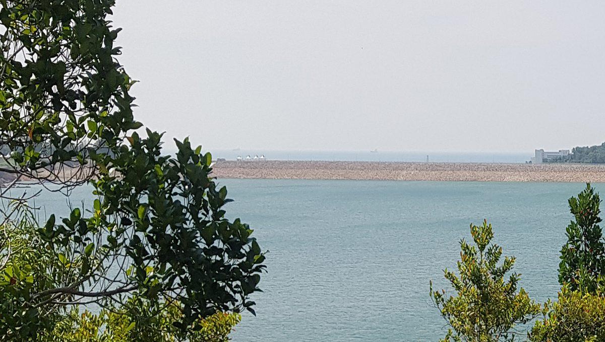 Teluk Bahang Dam seaview
