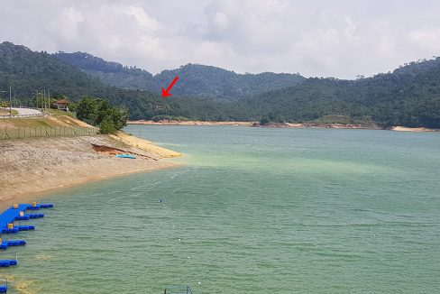 Teluk Bahang land from dam