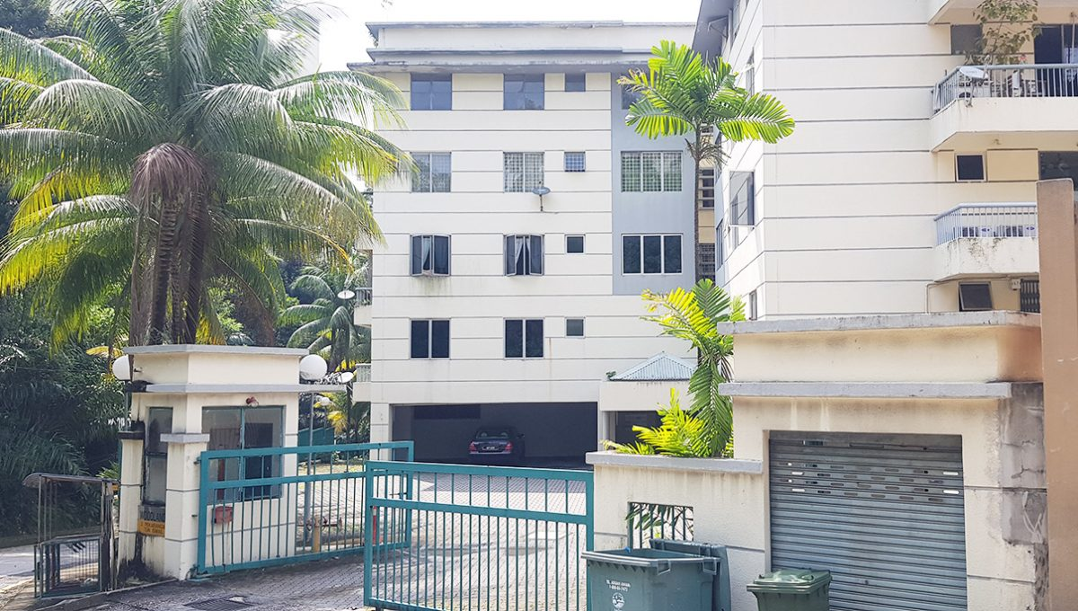 Woodlands Apartment-Front view