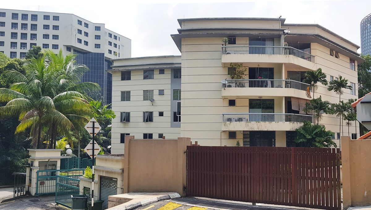 Woodlands Apartment front view2