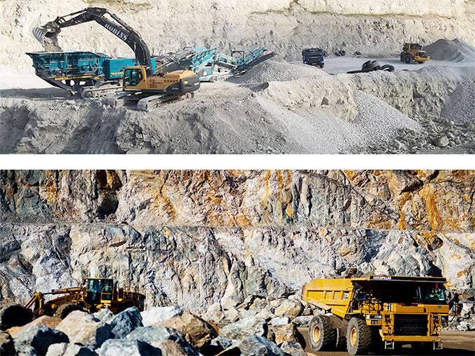 Quarry land