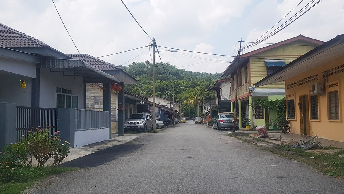 Tapah 33 acres new village