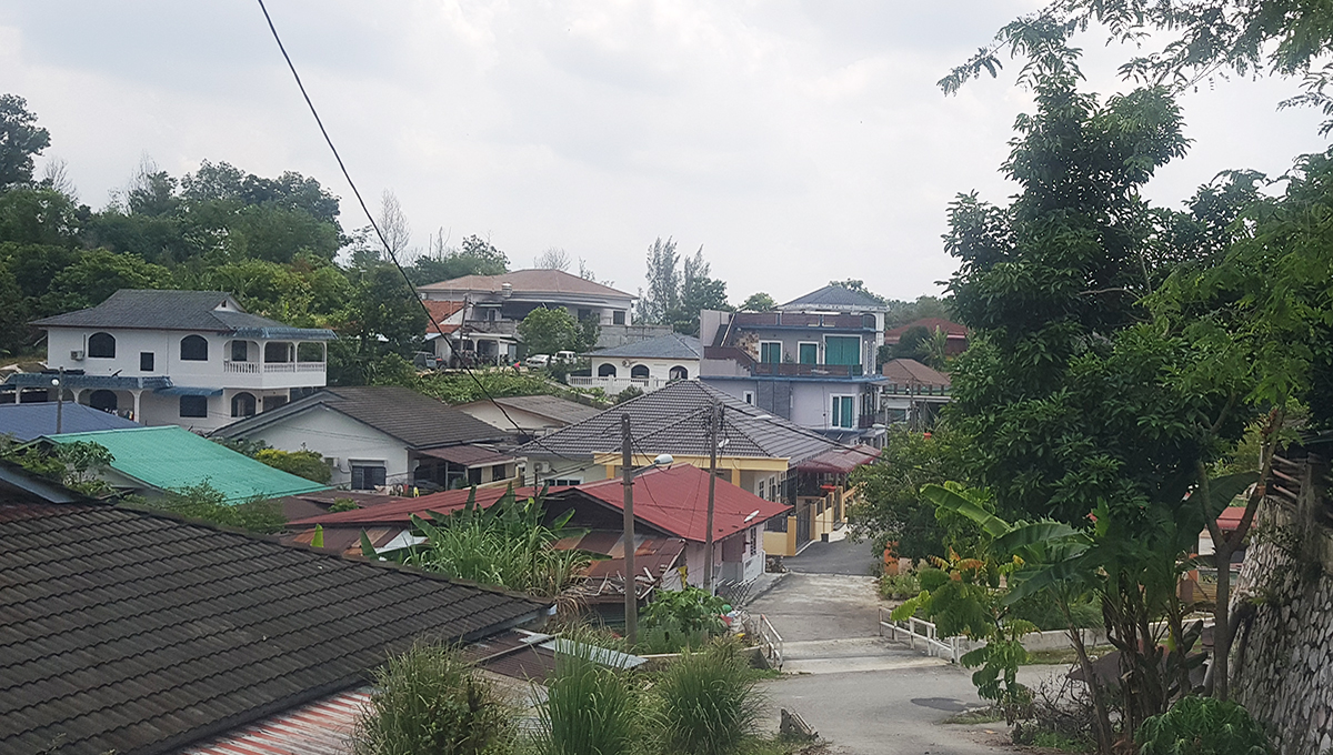 Tapah 33 acres new village houses