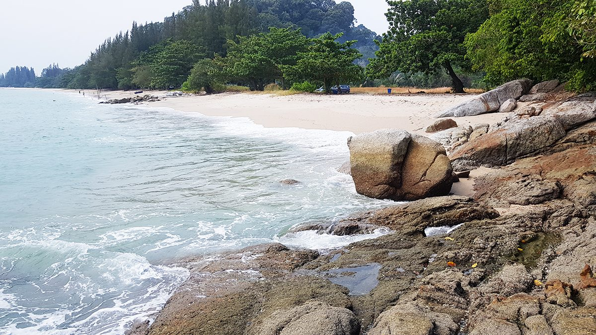 Teluk Senangin 60,000sf beautiful beach