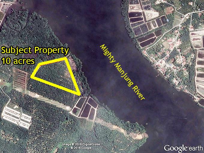Potential Industrial land 10 acres near Segari Perak
