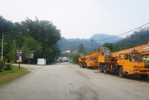 Bentong 19p5 elevated land-access road