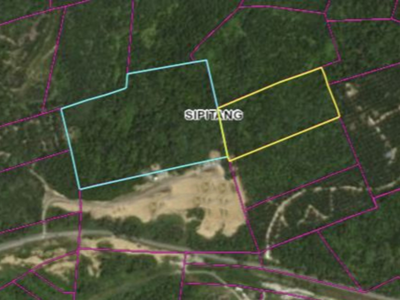 Sabah, Sipitang – 20 acres land with stream (Leasehold 999 years, as good as freehold)