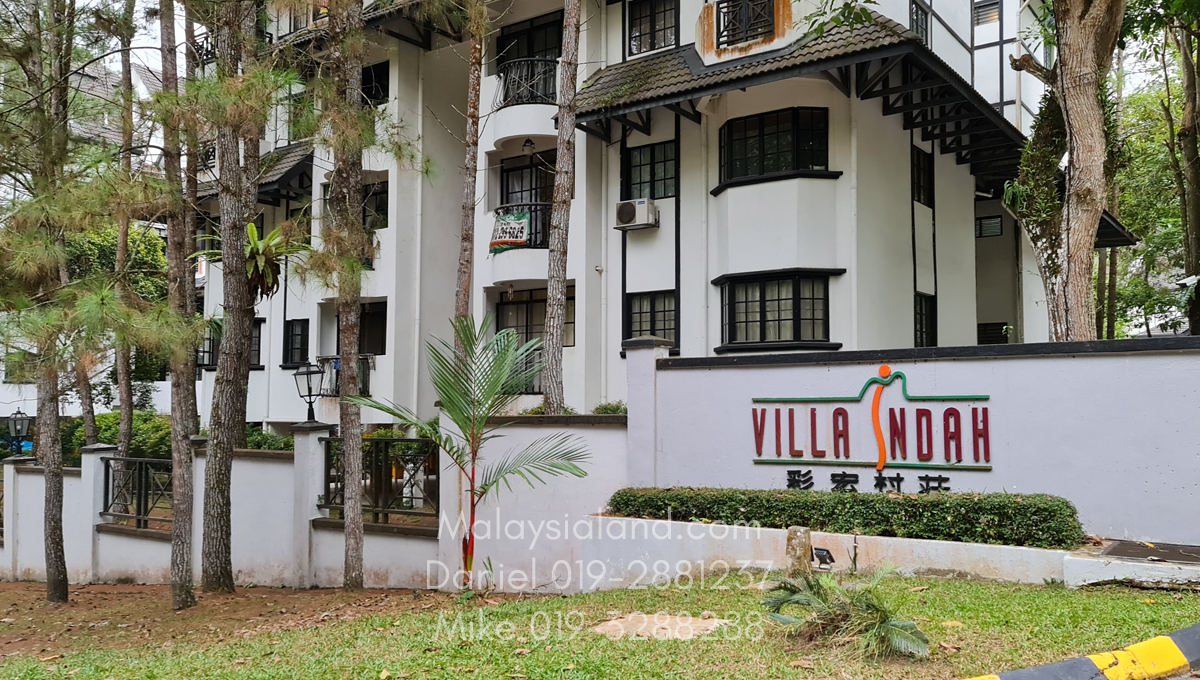 Villa Indah Apartments nearby subject property